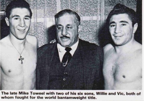 Willie, Pappa and Vic Toweel