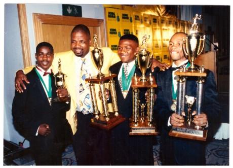 Zolani Petelo, Mzi Mguni,Vuyani Bungu and Hawk Makapula