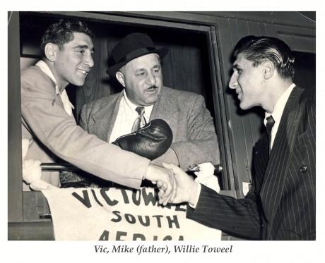vic, papa, willie toweel