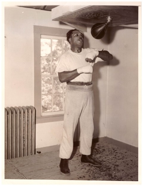 Archie Moore World Champion - African Ring