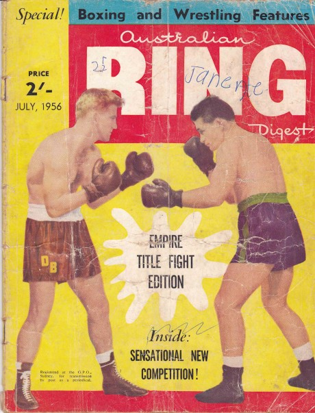 Australian Ring Digest July 1956