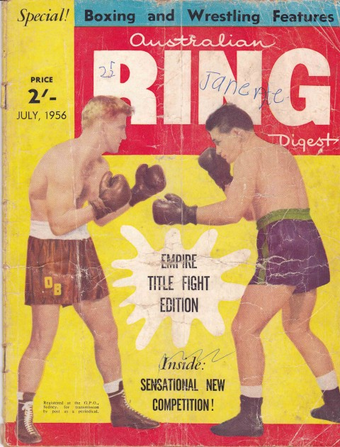 Australian Ring Digest July 1956 - African Ring