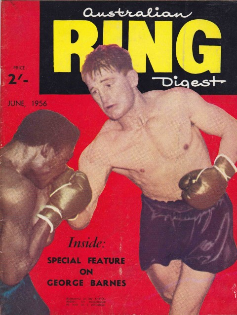 Australian Ring Digest June 1956 - African Ring