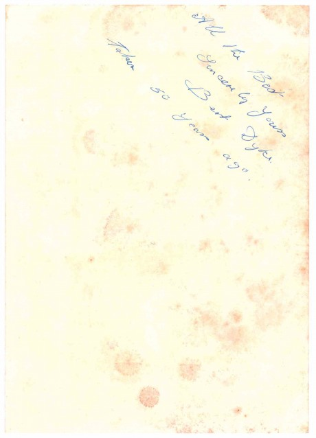 Bert Dyke signed on the back boxed 1913-1920