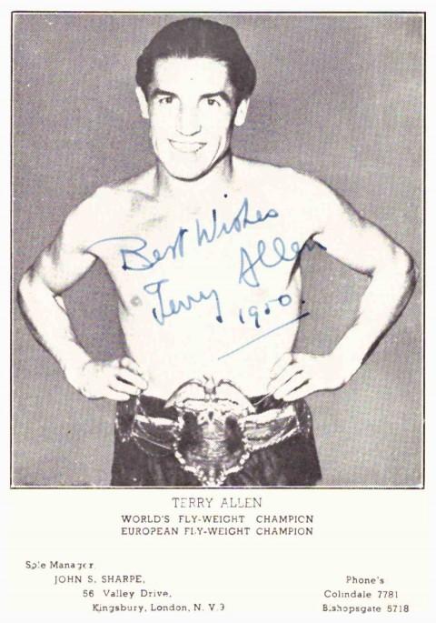 Billy Allen autograph - African Ring