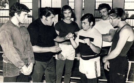 Billy Oliver, Alan Toweel,Johnny Sham,Morris Weinstein, Kosie Smith and Kokkie Olivier