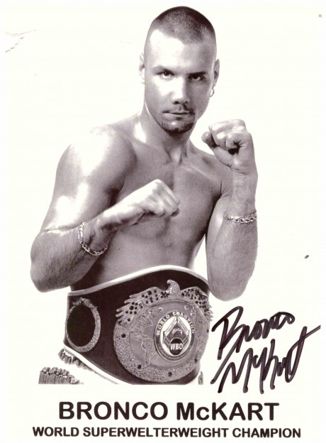 Bronco McKart WBO World Champion