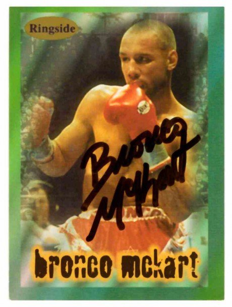 Bronco McKart WBO World Champion Ringside
