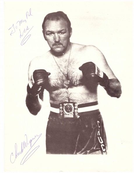 Chuck Wepner autograph Fought Muhammad Ali