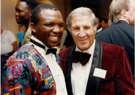 Dingaan Thobela and Willie Toweel