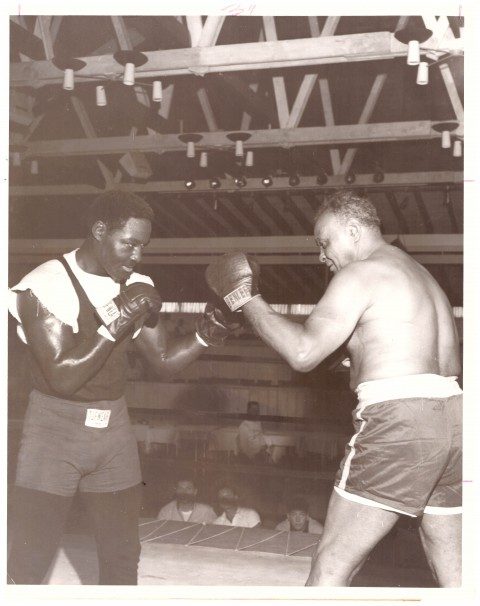 Ezzard Charles - African Ring