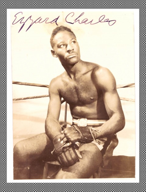 Ezzard Charles template - African Ring