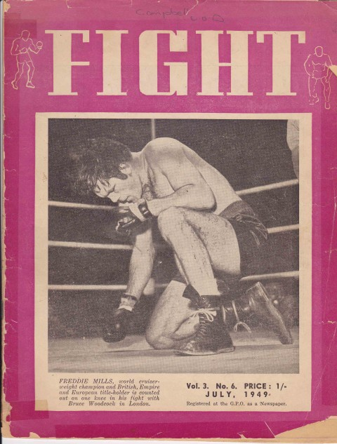 Fight July 1949 - African Ring