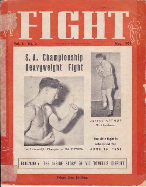 Fight May 1951 - African Ring