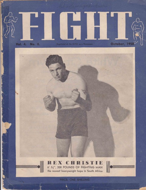 Fight October 1950 - African Ring