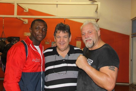 Flo Simba , Jeff Ellis and Fransie Both