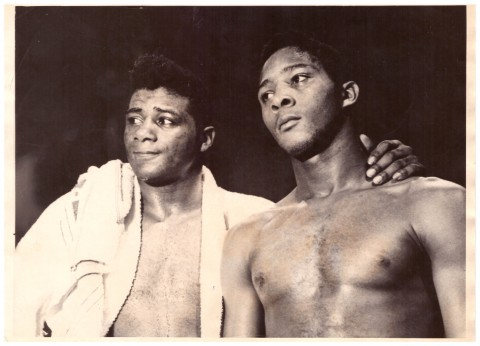 Floyd Patterson and Brother Ray - African Ring