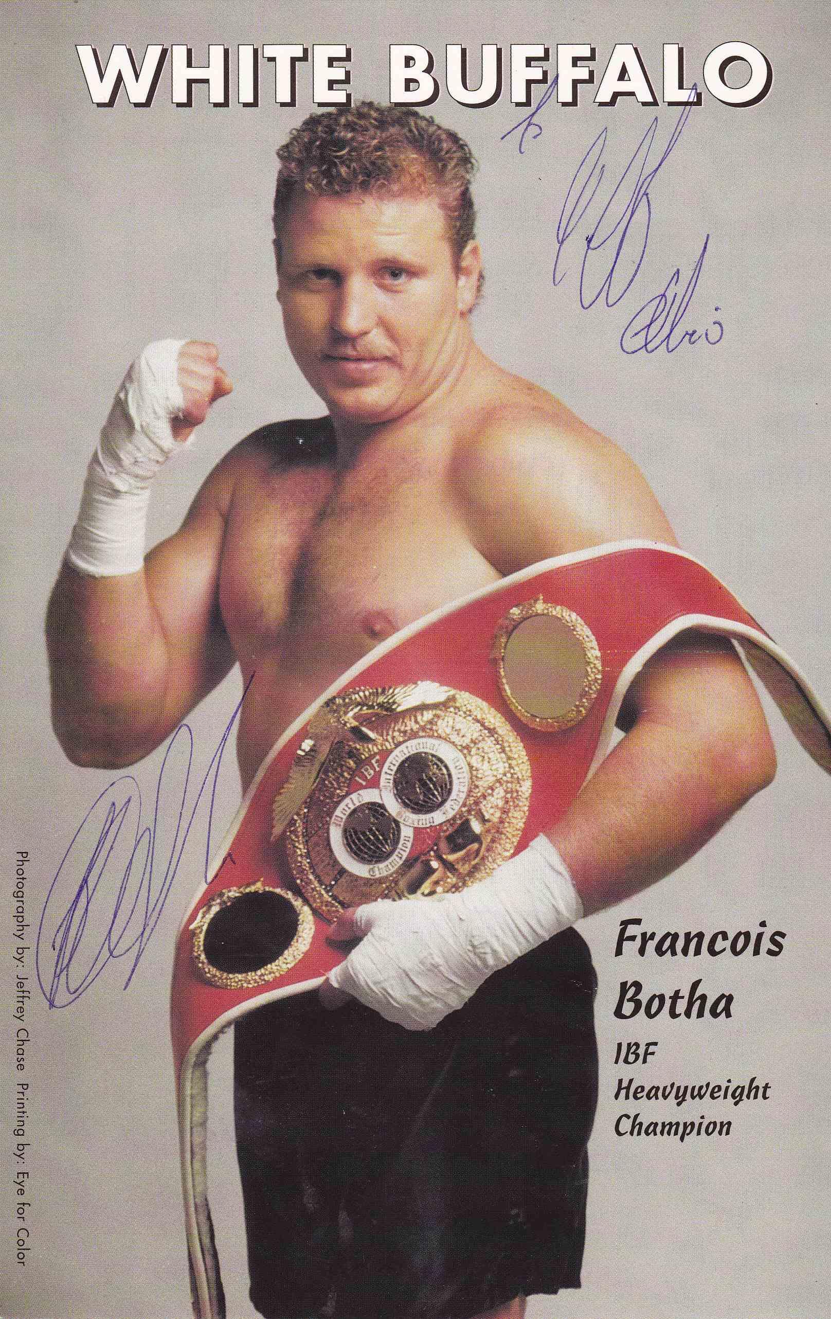 Fransie Botha - African Ring