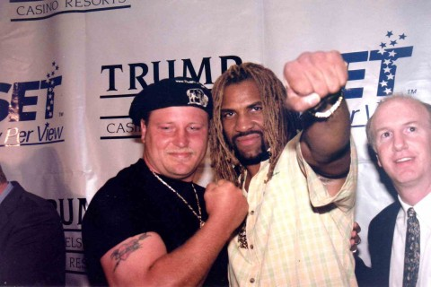 Fransie Botha and Shannon Briggs - African Ring