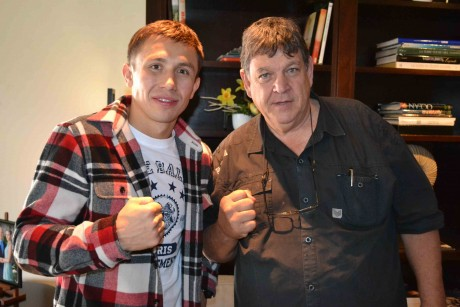 Gennady Golovkin and Jeff Ellis