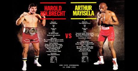 Harold Volbrecht vs Arthur Mayisela Sun City