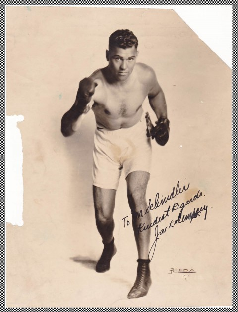 Jack Dempsey - African Ring
