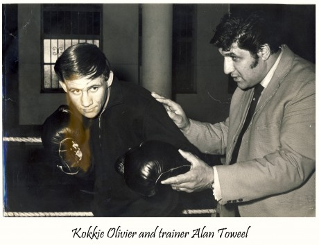 Kokkie Olivier and Trainer Alan Toweel