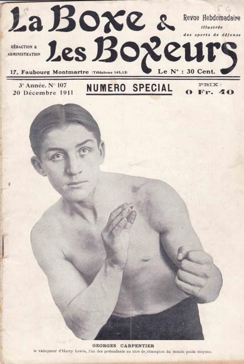 La Boxe & les Boxeurs 20 December 1911 - African Ring