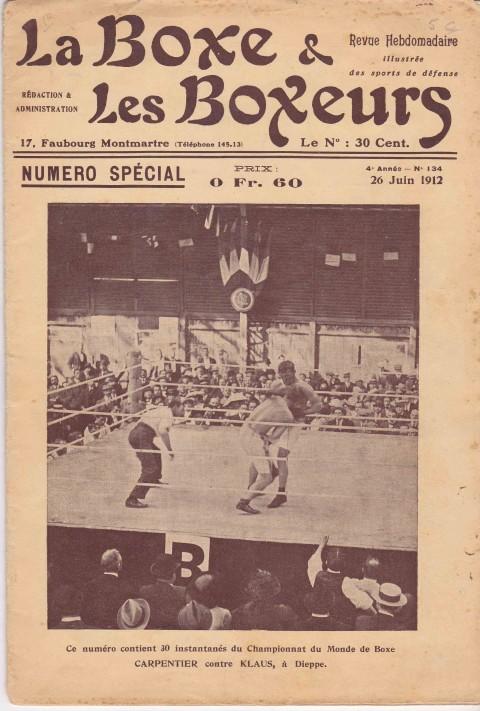 La Boxe & les Boxeurs 26 June 1912 - African Ring
