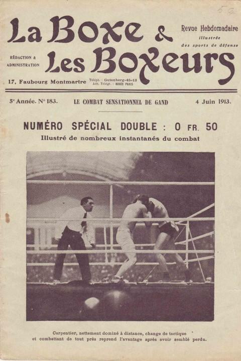 La Boxe & les Boxeurs 4 June 1913 - African Ring