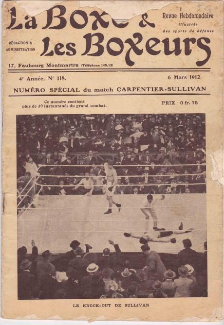 La Boxe & les Boxeurs 6 March 1912
