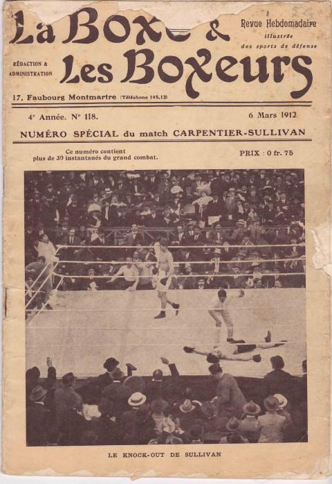La Boxe & les Boxeurs 6 March 1912 - African Ring
