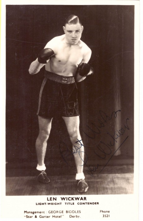 Len Wickwar most fights in history 468 from 1928-1947