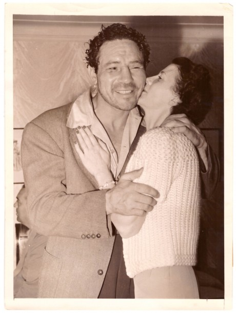 Max Baer and Mrs. Baer 1940