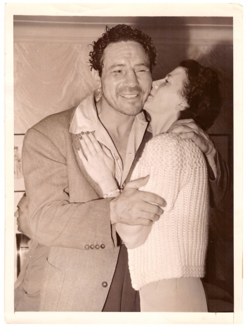 Max Baer and Mrs. Baer 1940 - African Ring