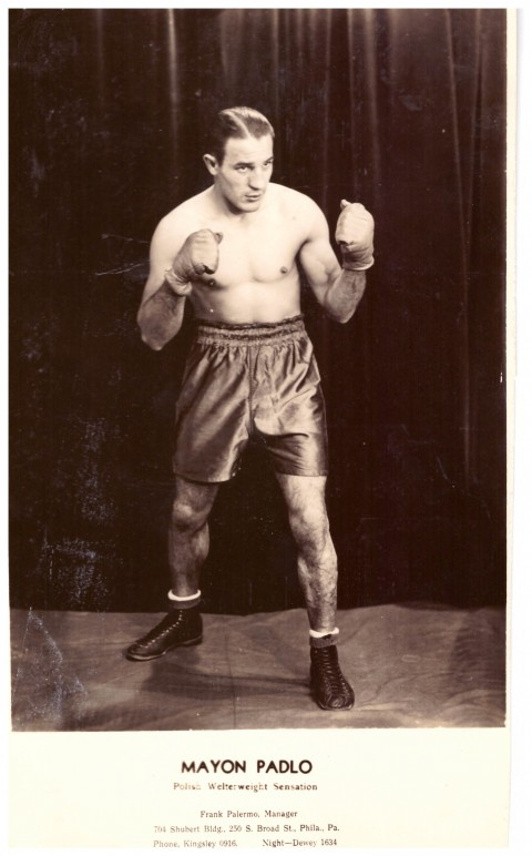 Mayon Pablo Polish welterweight 1941-1952 - African Ring