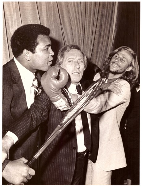 Muhammad Ali, Singer Andy Williams and Tennis Star Bjorn Borg