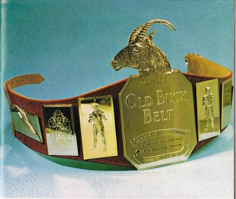Old Buck Belt original make