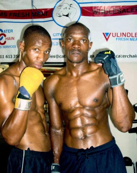 Oscar Chauke and Kaiser Mabuza