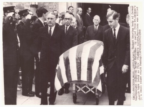 Rocky Marciano's funeral - African Ring