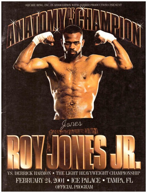 Roy Jones Jr. vs Derrick Harmon - African Ring