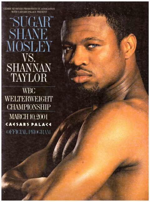 Sugar Shane Moseley vs Shannan Taylor 10 March 2001 - African Ring