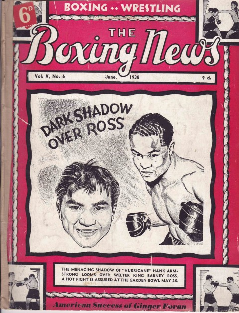 The Boxing News June 1938 - African Ring