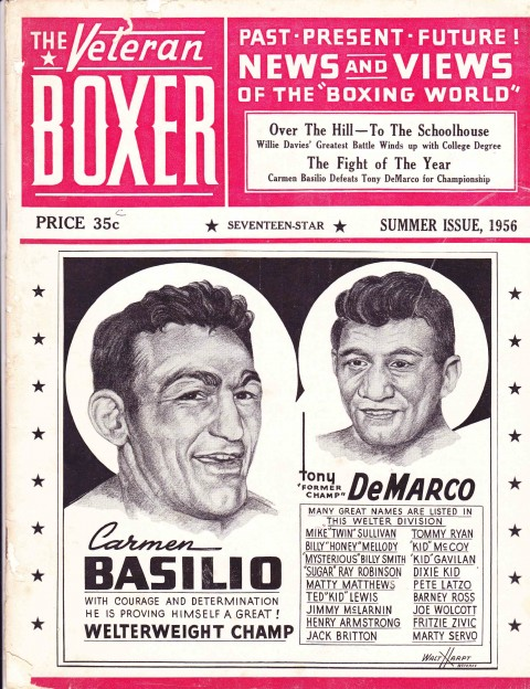 The Veteran Boxer 17 Star issue 1956 - African Ring