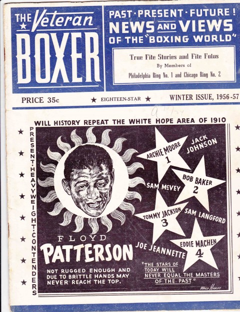 The Veteran Boxer 18 Star Issue 1956 - African Ring