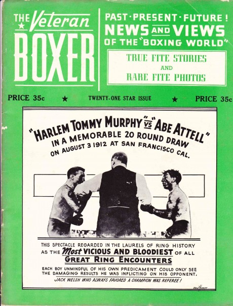 The Veteran Boxer 21 Star Issue