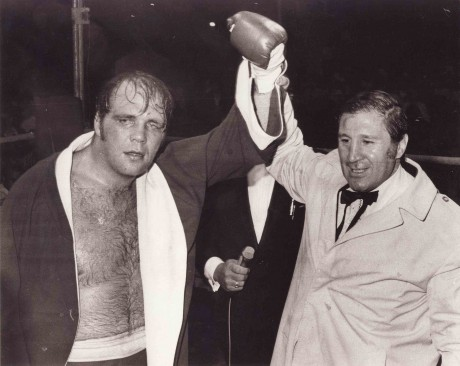 mike schutte with Willie Toweel