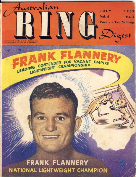Australian Ring Digest July 1952 Frank Flannery