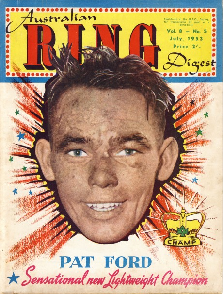 Australian Ring Digest July 1953 Pat Ford
