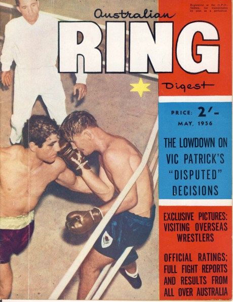 Australian Ring Digest May 1956 Vic Patrick